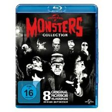 B.LUGOSI/B.KARLOFF/+ - UNIVERSAL MONSTERS COLLECTION  8 BLU-RAY 8 KLASSIKER NEU