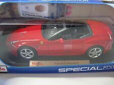 1:18 SCALE Maisto Ferrari California T Convertible  Diecast Car RED~2015~
