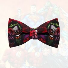 "Joker Adult Size solid 2 layer party wedding pre-tied ""WoW bow ties"" bow tie"