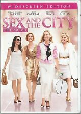 SEX AND THE CITY THE MOVIE WIDESCREEN EDITION (2008) DVD BRAND NEW SEALED