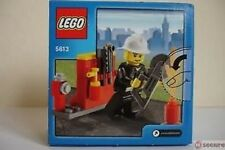 Lego City Firefighter Fireman – Set 5613 (New in sealed Box)