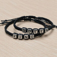 Couple Handmades Bracelet Kings And Queen His Hers Charm Bracelets Bangles Gifts