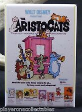 "The Aristocats Movie Poster 2"" X 3"" Fridge / Locker Magnet. Walt Disney"