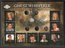GHOST WHISPERER SEASONS 3&4 (Breygent) COSTUME CARD #C28 Has 9 Swatches