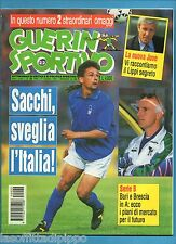 GUERIN SPORTIVO-1994 n.22- BAGGIO-SACCHI-LIPPI - NO LIBRO -NO FILM