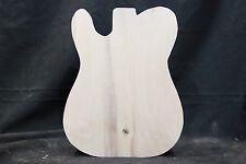 "Poplar 1-piece guitar body blank   Cut to ""Telecaster"" shape   #1546"