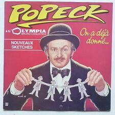 POPECK A l Olympia On a déjà donné ... 1729111