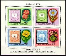 "Hungary 1974 Sc2281 MiB105A 4.00 MiEu 1SS mnh Cent.of 1st issue ""Magyar Post"""