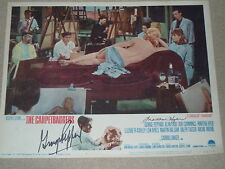 "George Peppard & Martha Hyer signed Lobby Card from ""THE CARPETBAGGERS"""