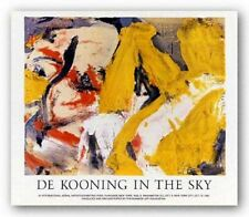 ABSTRACT ART PRINT In the Sky Willem De Kooning