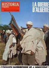 LA GUERRE D'ALGERIE l'évasion romanesque de J.Soustelle HISTORIA n° 253