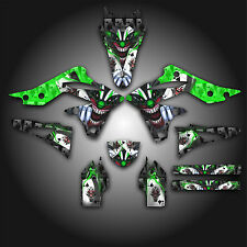 KAWASAKI KX250F KXF 250 2013 GRAPHICS KIT DECALS EVIL JOKER GREEN