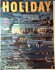 Vintage HOLIDAY Magazine January 1964  Martin Luther-Holland-Europe