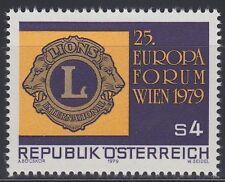 Österreich Austria 1979 ** Mi.1624 Lions Club Europa-Forum