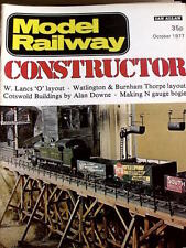 Model Railway Constructor October 1977 - Layout West Lancashire - Tr.20