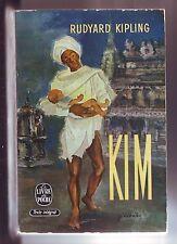 KIM rudyard kipling - livre de poche - 723-724