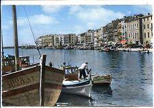 CP 34 HERAULT - Sète - Canal et Quai de la Marine colorisés
