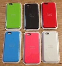 "GENUINE Apple Silicone Case For iPhone 6(S) PLUS 5.5"" TOP SELLING ALL COLOURS"