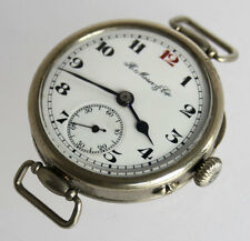 IMPERIAL RUßLAND Henry Moser Armbanduhr I WW WATCH for RUSSIAN MARKT 1915