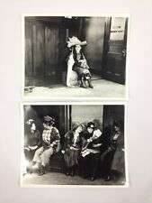 LOT OF 2 RARE MARY PICKFORD How could up, Jean? 1918 8x10 PHOTOS PICTURES
