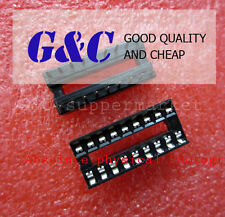 10PCS 18-Pin DIL DIP IC Socket PCB Mount Connector NEW GOOD QUALITY