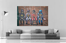 STREET ART SUPER HERO ENFANTS GRAFFITI Wall Art Poster Grand format A0 Large