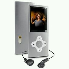NEW SILVER 64GB MP3 4TH GENERATION MUSIC MEDIA PLAYER LCD SCREEN FM VIDEO PHOTO