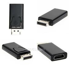 New Display Port DP Male To HDMI Female Adapter Converter Adaptor for HP/DELL