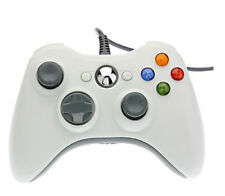 New Wired USB Game Pad Controller For Microsoft Xbox 360 White USA Shipping
