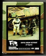 VERLINDEN 1056 - COFFEE BREAK OSTFRONT (2 Figures) - 1/35 RESIN KIT NUOVO
