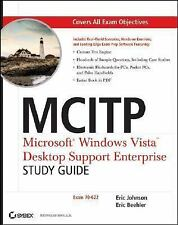 MCITP: Microsoft Windows Vista Desktop Support Enterprise Study Guide:-ExLibrary