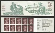 GB 1978-1979 FD4B COUNTRY CRAFT SERIES - DRY STONE WALLING 70P FOLDED BOOKLET