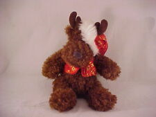 Galerie Plush Christmas Moose or Reindeer Excellent Condition w/ Tag