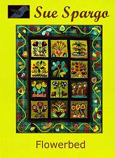 Flowerbed - applique & embellishment quilt book - Sue Spargo