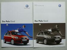 Prospekt Volkswagen VW Polo Goal, 3.2006, 16 Seiten + Preisliste 1.2006