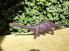 INVICTA PLASTICS purple CETIOSAURUS dinosaur toy British Natural History Museum