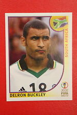 PANINI KOREA JAPAN 2002 # 160 SOUTH AFRICA BUCKLEY WITH BLACK BACK MINT!!!