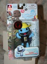 "LITTLE BIG PLANET SACKBOY ACTION FIGURE 2011 CON EXCLUSIVE NEW 4"" TALL MEZCO"