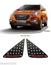 C Pillar Sport Plate Black Red 2P Garnish For Hyundai Tucson ix35 2011 2015