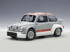 AUTOart Fiat Abarth TCR 1000 1970 Matt Grey/Red Stripes 1:18 (72641)
