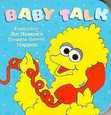 Baby Talk (Sesame Street Books) by Nicklaus, Carol