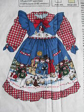 "DAISY KINGDOM HEAVEN & NATURE SING DAISY DOLLY DRESS PANEL 17-19"" DOLL AG XMAS"