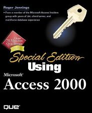 Special Edition Using Microsoft Access 2000 Jennings, Roger Paperback