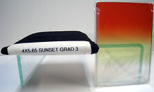 "4x5.65"" Sunset Grad 3 Tiffen Filter Vertical Graduated Filters Panavision Size"