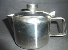 STAINLESS STEEL TEAPOT , TEA POT 1-2 cups,STRAINER, STAY COOL HANDLE,STEAM VENT