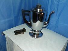 MIRRO-MATIC ELECTRIC PERCOLATOR #9652M 8 CUP MADE IN U.S.A. THE FINEST ALUMINUM