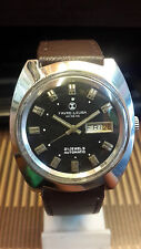 FAVRE-LEUBA GENEVE 21 JEWELS AUTOMATIC DAY & DATE VINTAGE WATCH