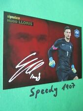 Road to UEFA Euro 2016 Belgien Edition Signature Lloris  Panini Autogramm