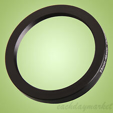 55mm to 46mm 55-46 55-46mm 55mm-46mm Stepping Step Down Filter Ring Adapter
