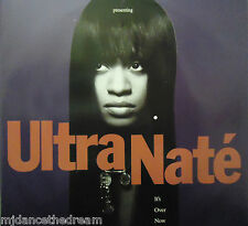 "ULTRA NATE ~ Its Over Now ~ 12"" Single PS"